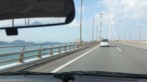 車で瀬戸大橋