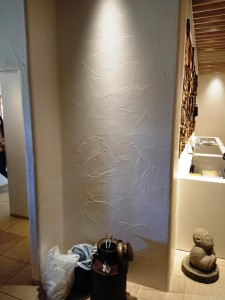 塗り壁の部屋